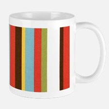 Bold retro colorful stripes Small Small Mug