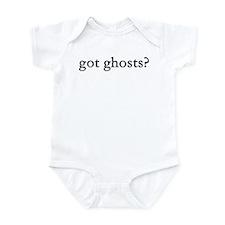 got ghosts? Infant Bodysuit