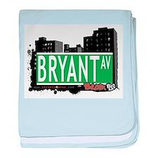 Bryant Ave baby blanket