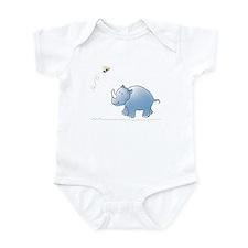 Rhino and Bee Infant Bodysuit