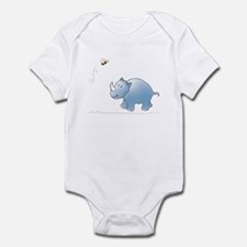 Rhino and Bee Onesie