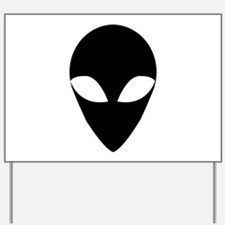 BLACK ALIEN.png Yard Sign