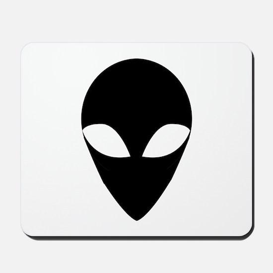 BLACK ALIEN.png Mousepad