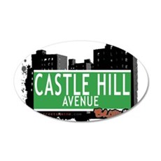 Castle Hill Ave Wall Decal