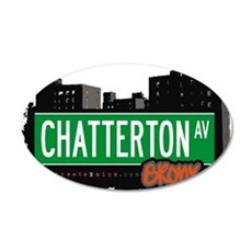 Chatterton Ave Wall Decal