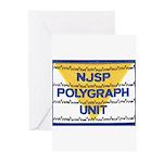 NJSP Polygraph Unit Greeting Cards (Pk of 10)