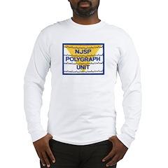 NJSP Polygraph Unit Long Sleeve T-Shirt