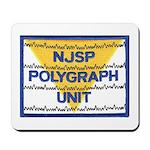 NJSP Polygraph Unit Mousepad