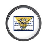 NJSP Polygraph Unit Wall Clock