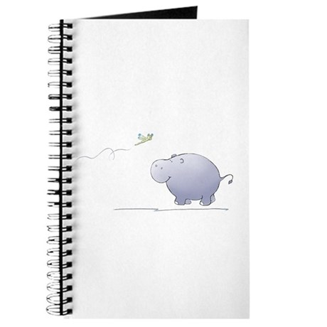 hippo and dragonfly Journal