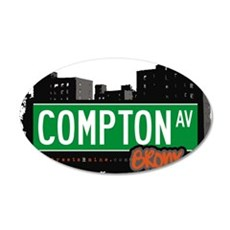 Compton Ave Wall Decal