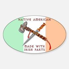 Native American/Irish Decal