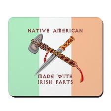 Native American/Irish Mousepad