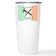 Native American/Irish Travel Mug