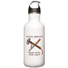 Native American/Irish Water Bottle