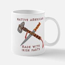 Native American/Irish Mug