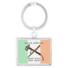 Native American/Irish Keychains