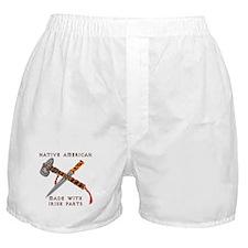 Native American/Irish Boxer Shorts