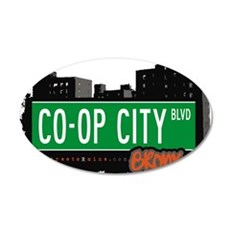 Co-Op City Blvd Wall Decal