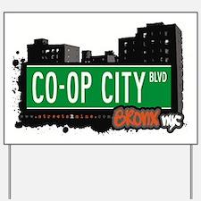 Co-Op City Blvd Yard Sign