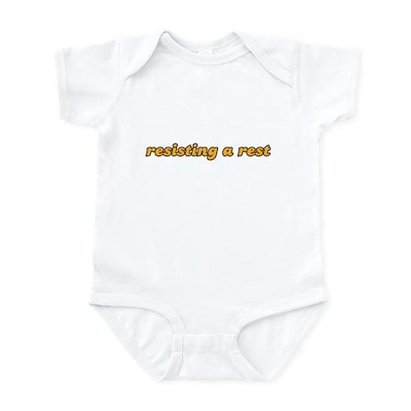 Kids - resisting a rest Infant Bodysuit