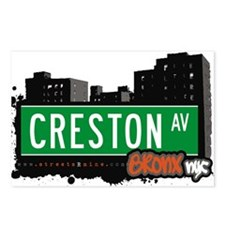 Creston Ave Postcards (Package of 8)