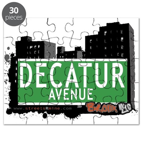 Decatur Ave Puzzle