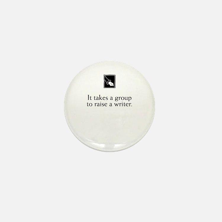 Writing Group Mini Button