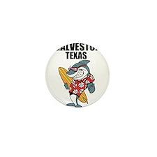 Galveston Mini Button
