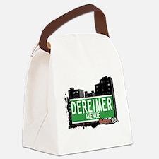 Dereimer Ave Canvas Lunch Bag