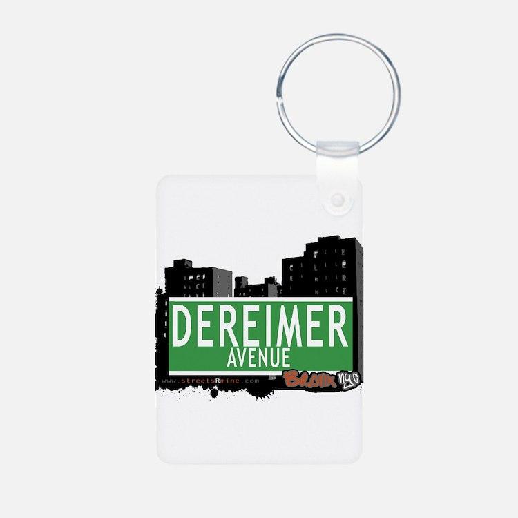 Dereimer Ave Keychains