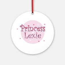 Lexie Ornament (Round)