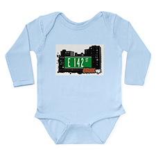 E 142 St Long Sleeve Infant Bodysuit