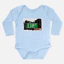 E 149 St Long Sleeve Infant Bodysuit