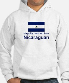 Happily Married To A Nicaraguan Hoodie
