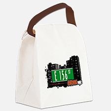 E 156 St Canvas Lunch Bag