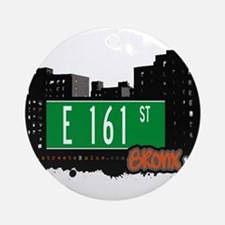 E 161 St Ornament (Round)