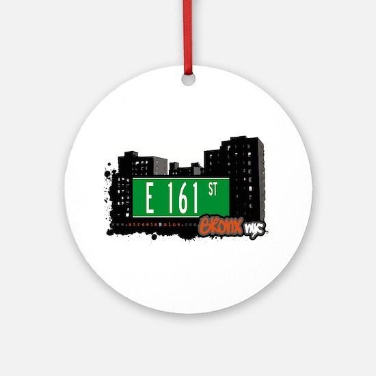 E 161 St Ornament (Round)