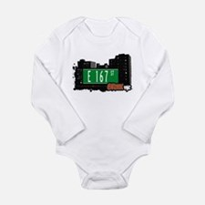 E 167 St Long Sleeve Infant Bodysuit