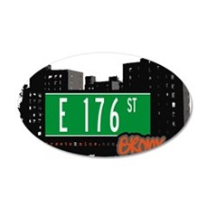 E 176 St Wall Decal