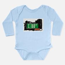 E 180 St Long Sleeve Infant Bodysuit