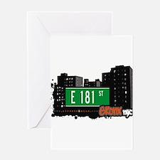 E 181 St Greeting Card