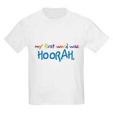 My First Word... Kids T-Shirt