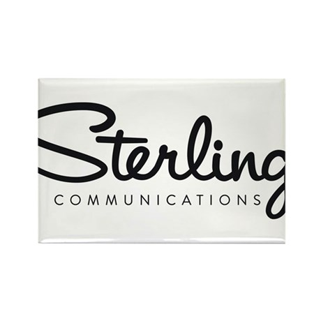Sterling Communications logo Rectangle Magnet
