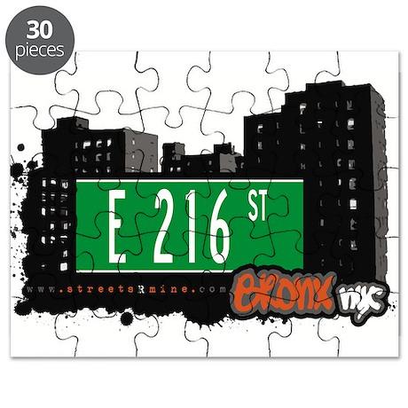 E 216 St Puzzle