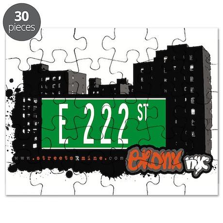 E 222 St Puzzle