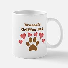 Brussels Griffon Dad Small Mug