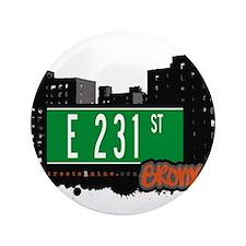 "E 231 St 3.5"" Button"