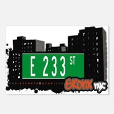 E 233 St Postcards (Package of 8)
