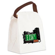 E 236 St Canvas Lunch Bag